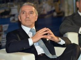 Fabio Storchi nuovo presidente di Federmeccanica eletto durante l'assemblea generale tenutasi a Genova. 14 giugno 2013 a Genova. ANSA/LUCA ZENNARO